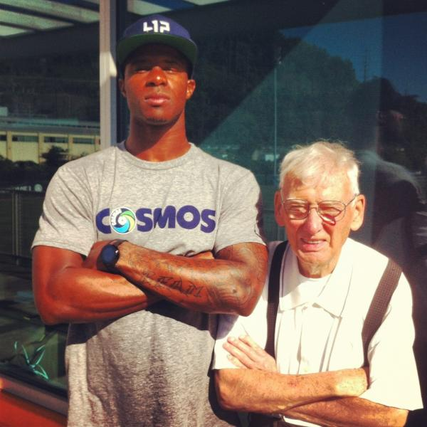 Ike Taylor and Dan Rooney Swaggin