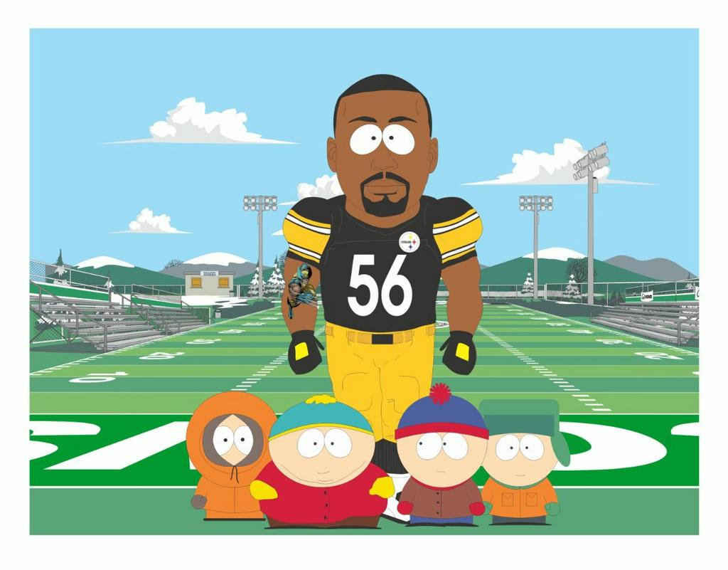 Lamarr Woodley South Park