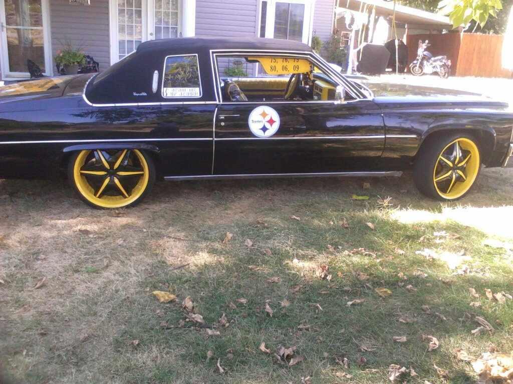 Pittsburgh Steelers car Steeler Nation car