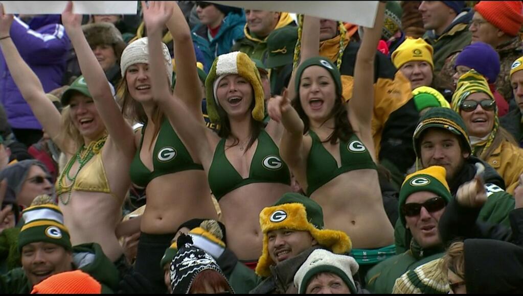 Packers Bikini Girls