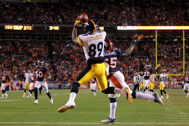Wild Card Playoffs - Pittsburgh Steelers v Denver Broncos